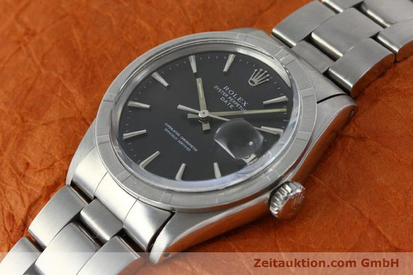 Used luxury watch Rolex Date steel automatic Kal. 1570 Ref. 1501 VINTAGE  | 151677 01