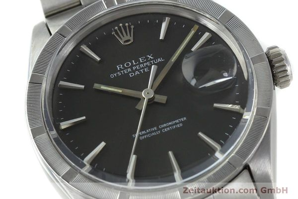 Used luxury watch Rolex Date steel automatic Kal. 1570 Ref. 1501 VINTAGE  | 151677 02