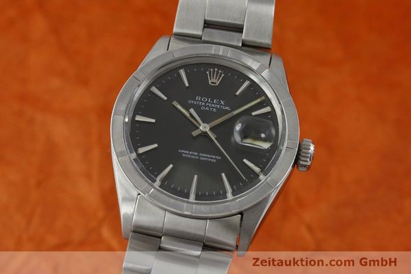 Used luxury watch Rolex Date steel automatic Kal. 1570 Ref. 1501 VINTAGE  | 151677 04