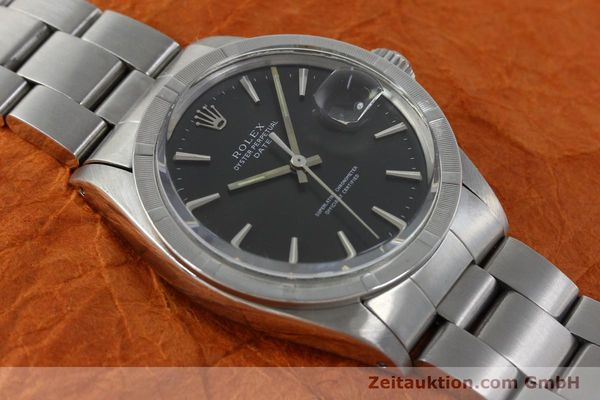 Used luxury watch Rolex Date steel automatic Kal. 1570 Ref. 1501 VINTAGE  | 151677 14