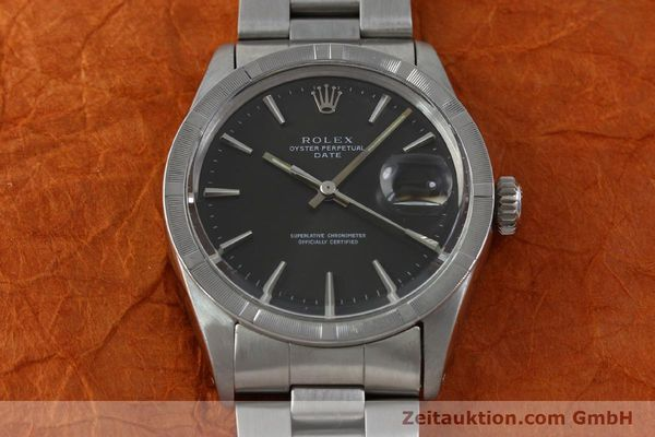 Used luxury watch Rolex Date steel automatic Kal. 1570 Ref. 1501 VINTAGE  | 151677 15