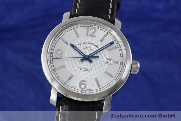 Used luxury watch Mühle Cap Polonio steel automatic Kal. Sellita SW200 Ref. M1-29-35  | 151678 04