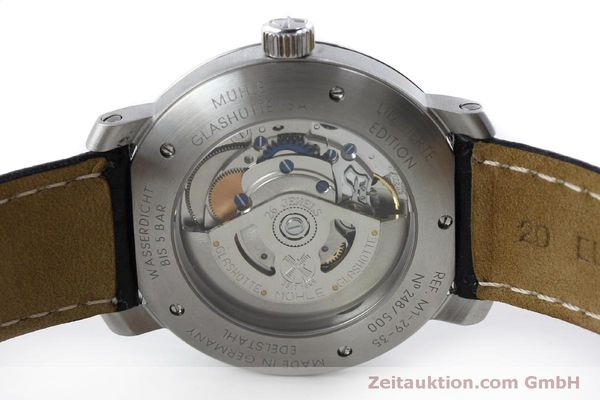 Used luxury watch Mühle Cap Polonio steel automatic Kal. Sellita SW200 Ref. M1-29-35  | 151678 09