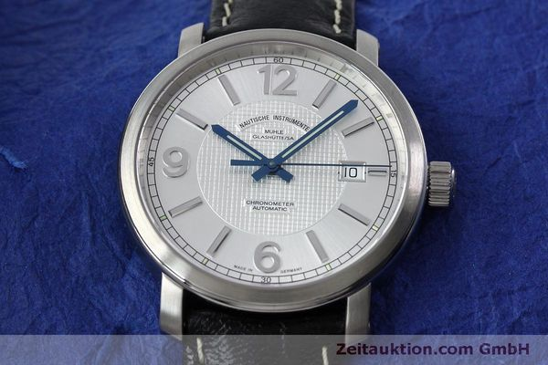 Used luxury watch Mühle Cap Polonio steel automatic Kal. Sellita SW200 Ref. M1-29-35  | 151678 17