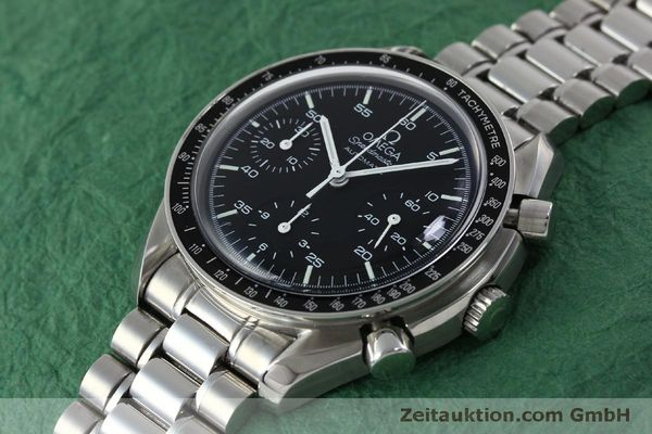 Used luxury watch Omega Speedmaster chronograph steel automatic Kal. 3220 ETA 2890A2 Ref. 175.0032.1, 175.00.33.1  | 151681 01