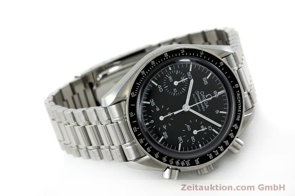 Used luxury watch Omega Speedmaster chronograph steel automatic Kal. 3220 ETA 2890A2 Ref. 175.0032.1, 175.00.33.1  | 151681 03