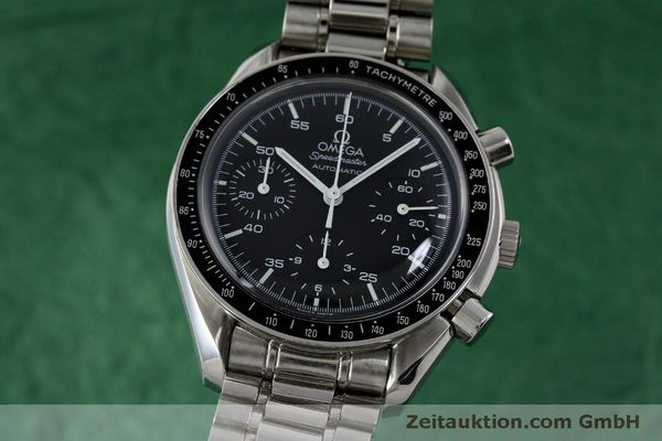 Used luxury watch Omega Speedmaster chronograph steel automatic Kal. 3220 ETA 2890A2 Ref. 175.0032.1, 175.00.33.1  | 151681 04