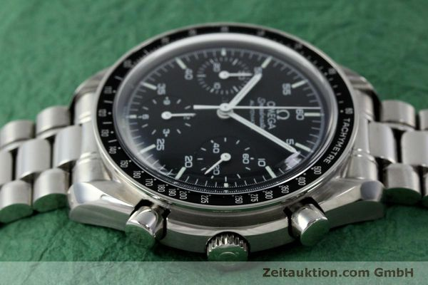 Used luxury watch Omega Speedmaster chronograph steel automatic Kal. 3220 ETA 2890A2 Ref. 175.0032.1, 175.00.33.1  | 151681 05