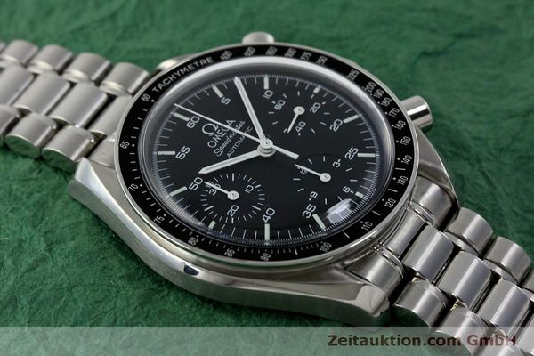 Used luxury watch Omega Speedmaster chronograph steel automatic Kal. 3220 ETA 2890A2 Ref. 175.0032.1, 175.00.33.1  | 151681 14