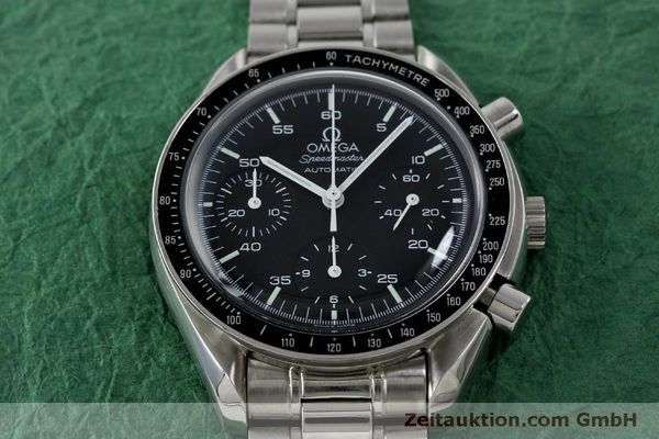 Used luxury watch Omega Speedmaster chronograph steel automatic Kal. 3220 ETA 2890A2 Ref. 175.0032.1, 175.00.33.1  | 151681 15