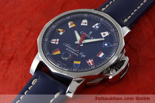 Used luxury watch Corum Admirals Cup steel automatic Kal. ETA 2892A2 Ref. 01.0003  | 151691 01