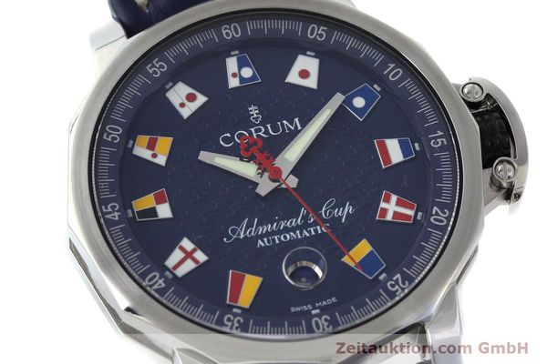 Used luxury watch Corum Admirals Cup steel automatic Kal. ETA 2892A2 Ref. 01.0003  | 151691 02