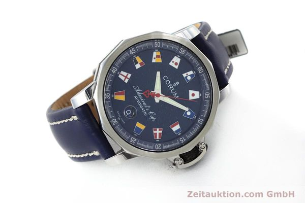 Used luxury watch Corum Admirals Cup steel automatic Kal. ETA 2892A2 Ref. 01.0003  | 151691 03