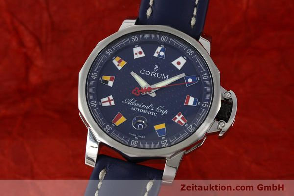 Used luxury watch Corum Admirals Cup steel automatic Kal. ETA 2892A2 Ref. 01.0003  | 151691 04