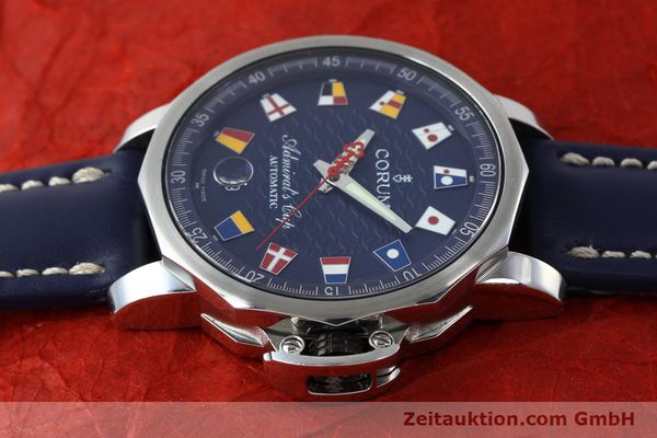 Used luxury watch Corum Admirals Cup steel automatic Kal. ETA 2892A2 Ref. 01.0003  | 151691 05