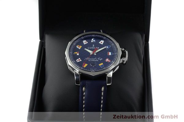 Used luxury watch Corum Admirals Cup steel automatic Kal. ETA 2892A2 Ref. 01.0003  | 151691 07