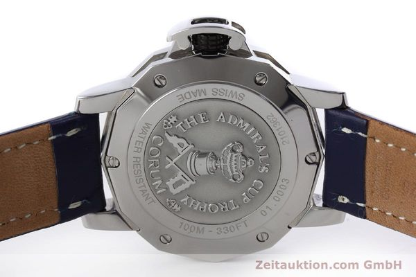 Used luxury watch Corum Admirals Cup steel automatic Kal. ETA 2892A2 Ref. 01.0003  | 151691 09