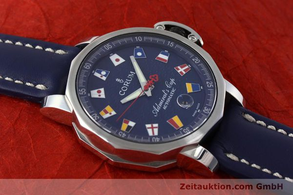Used luxury watch Corum Admirals Cup steel automatic Kal. ETA 2892A2 Ref. 01.0003  | 151691 13