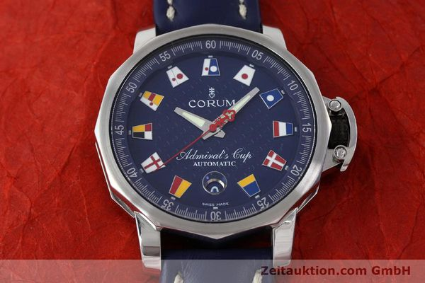 Used luxury watch Corum Admirals Cup steel automatic Kal. ETA 2892A2 Ref. 01.0003  | 151691 14