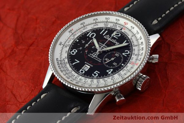 Used luxury watch Breitling Montbrillant chronograph steel automatic Kal. B35 ETA 2892A2 Ref. A35330  | 151692 01