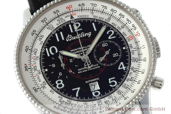 Used luxury watch Breitling Montbrillant chronograph steel automatic Kal. B35 ETA 2892A2 Ref. A35330  | 151692 02