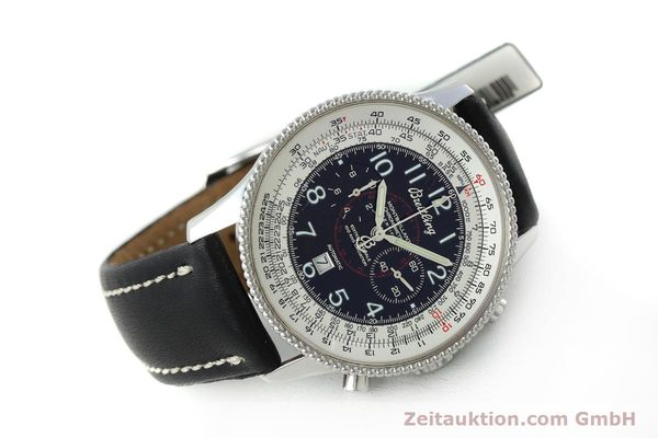 Used luxury watch Breitling Montbrillant chronograph steel automatic Kal. B35 ETA 2892A2 Ref. A35330  | 151692 03