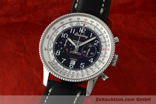 Used luxury watch Breitling Montbrillant chronograph steel automatic Kal. B35 ETA 2892A2 Ref. A35330  | 151692 04