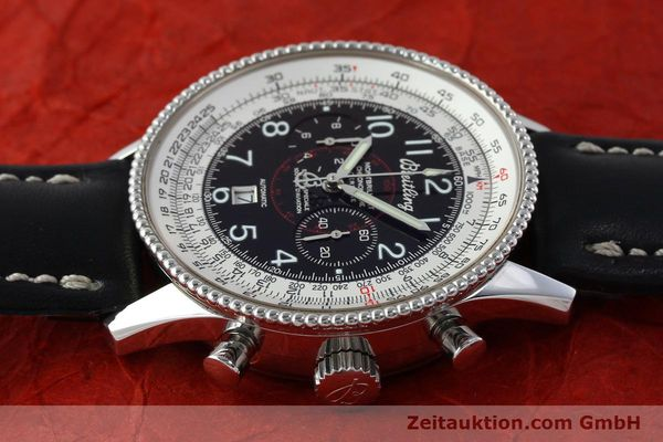 Used luxury watch Breitling Montbrillant chronograph steel automatic Kal. B35 ETA 2892A2 Ref. A35330  | 151692 05
