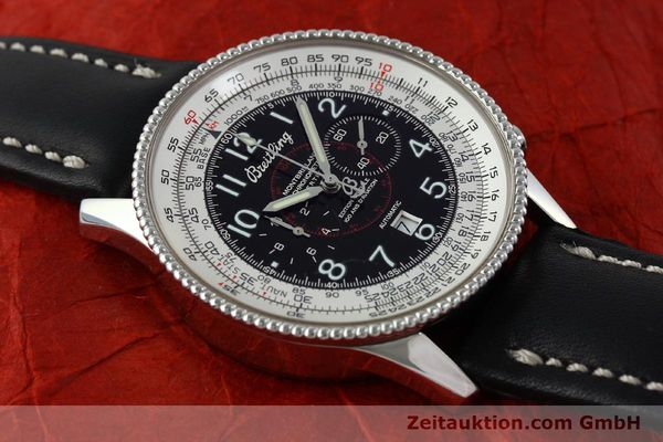 Used luxury watch Breitling Montbrillant chronograph steel automatic Kal. B35 ETA 2892A2 Ref. A35330  | 151692 13