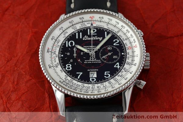 Used luxury watch Breitling Montbrillant chronograph steel automatic Kal. B35 ETA 2892A2 Ref. A35330  | 151692 14