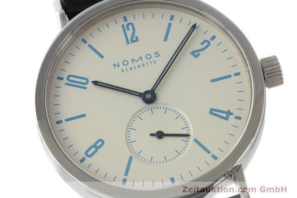 Used luxury watch Nomos Tangente Sport steel manual winding Kal. Alpha 7417 LIMITED EDITION | 151699 02