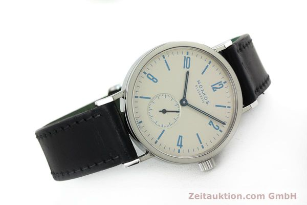 Used luxury watch Nomos Tangente Sport steel manual winding Kal. Alpha 7417 LIMITED EDITION | 151699 03