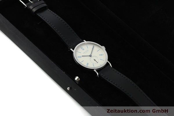 Used luxury watch Nomos Tangente Sport steel manual winding Kal. Alpha 7417 LIMITED EDITION | 151699 07
