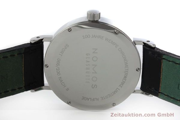 Used luxury watch Nomos Tangente Sport steel manual winding Kal. Alpha 7417 LIMITED EDITION | 151699 09