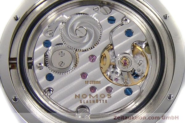 Used luxury watch Nomos Tangente Sport steel manual winding Kal. Alpha 7417 LIMITED EDITION | 151699 10