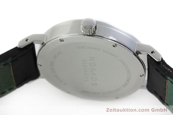 Used luxury watch Nomos Tangente Sport steel manual winding Kal. Alpha 7417 LIMITED EDITION | 151699 11