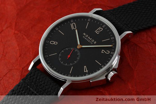 Used luxury watch Nomos Ahoi steel automatic Kal. Epsilon 19730  | 151700 01