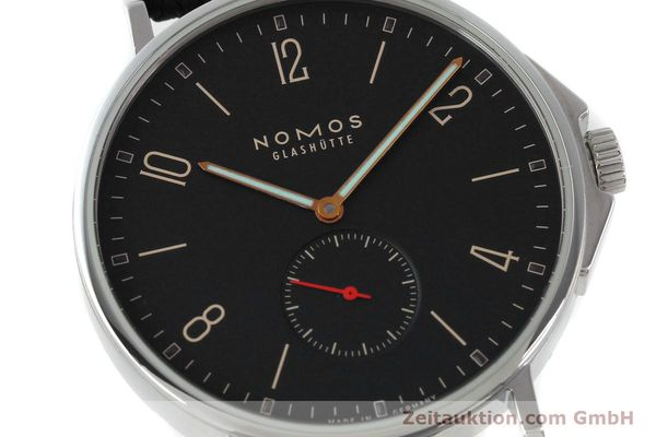 Used luxury watch Nomos Ahoi steel automatic Kal. Epsilon 19730  | 151700 02
