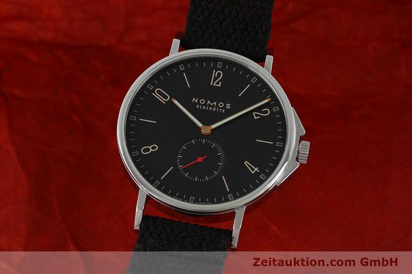 Used luxury watch Nomos Ahoi steel automatic Kal. Epsilon 19730  | 151700 04