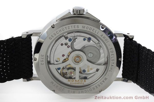 Used luxury watch Nomos Ahoi steel automatic Kal. Epsilon 19730  | 151700 09