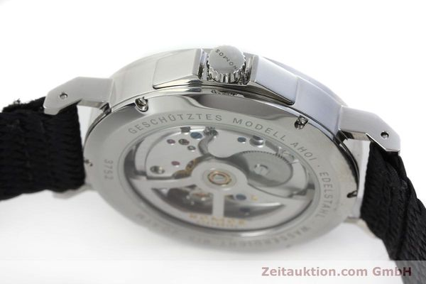 Used luxury watch Nomos Ahoi steel automatic Kal. Epsilon 19730  | 151700 11