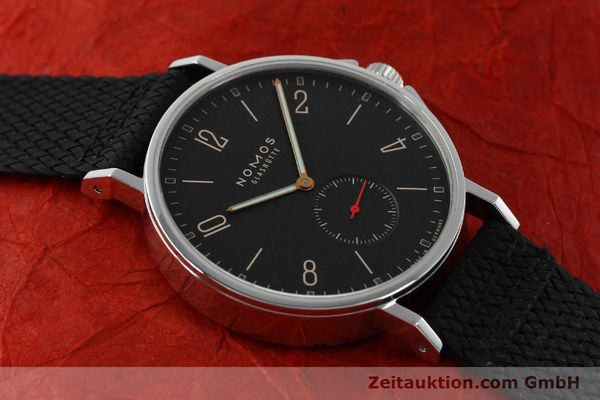 Used luxury watch Nomos Ahoi steel automatic Kal. Epsilon 19730  | 151700 15