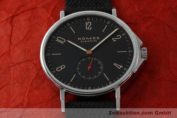 Used luxury watch Nomos Ahoi steel automatic Kal. Epsilon 19730  | 151700 16