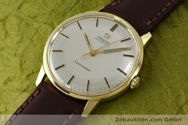 Used luxury watch Omega Seamaster 18 ct gold automatic Kal. 552  | 151702 01