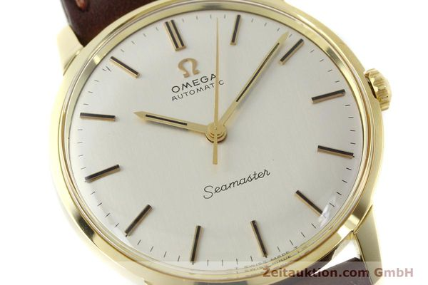 Used luxury watch Omega Seamaster 18 ct gold automatic Kal. 552  | 151702 02