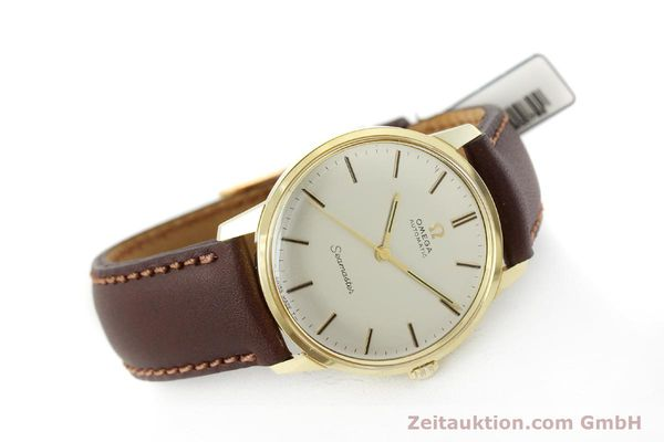 Used luxury watch Omega Seamaster 18 ct gold automatic Kal. 552  | 151702 03