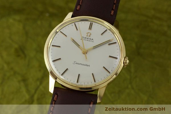 Used luxury watch Omega Seamaster 18 ct gold automatic Kal. 552  | 151702 04