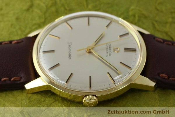 Used luxury watch Omega Seamaster 18 ct gold automatic Kal. 552  | 151702 05