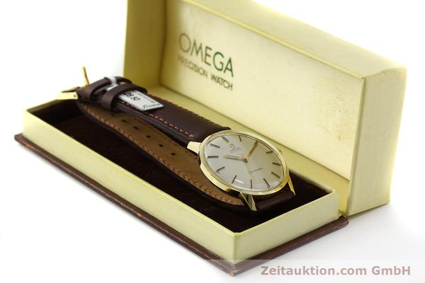 Used luxury watch Omega Seamaster 18 ct gold automatic Kal. 552  | 151702 07