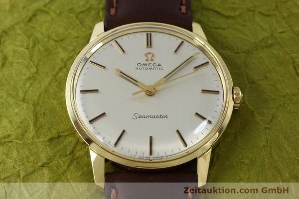 Used luxury watch Omega Seamaster 18 ct gold automatic Kal. 552  | 151702 16